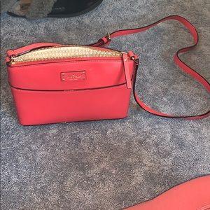 Red Kate spade bag
